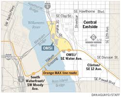 Trimet Max Map The Central Question Omsi At Odds With Portland Some Neighbors