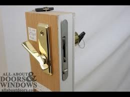 sliding door lock whitco sliding door lock jammed youtube