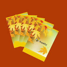 bulk thanksgiving cards set of 5 bee thankful cards blank inside size 5x7