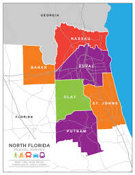 North Florida Map by North Florida Travel Survey