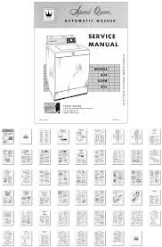 washer dryer library 1962 sq automatic washer service manual