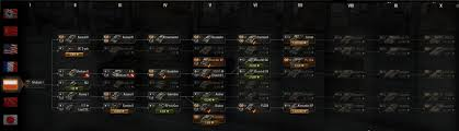 world of tanks nation guide polish tech tree gameplay world of tanks official forum page 4