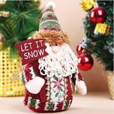 santa claus ornaments decorations diy snowman
