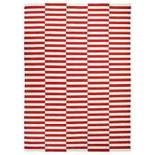 Pink And White Striped Rug Stockholm 2017 Rug Flatwoven Ikea