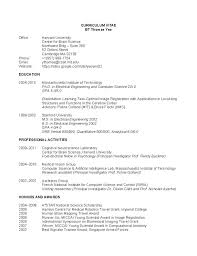 professional cv of engineer resume latex template software