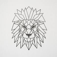 tattoo geometric outline image result for lion geometric outline zentangle pattern ideas