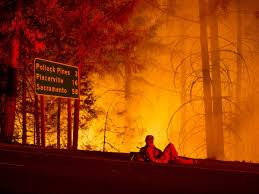 Wildfire Cali by Photos Of California Wildfire Near Sacramento Business Insider