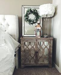 Nightstands With Mirrored Drawers Wood And Mirrored Nightstands Wood And Mirrored Dresser Rustic