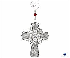 waterford 2014 cross ornament