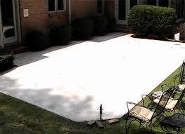 Backyard Cement Ideas Concrete Backyard Ideas Best Triyae Backyard Cement Patio