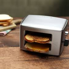 Buttered Bread In Toaster Toaster Grilled Cheese Hack Recipe Tastemade