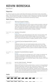 Resume For It Support Technical Support Analyst Resume Samples Visualcv Resume Samples