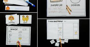 thanksgiving stationery paper thanksgiving writing centers the kindergarten connection