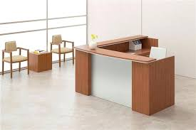 L Shape Reception Desk L Shaped Reception Desk Series L Shape Reception Desk With Silver