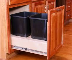 kitchen trash cabinet pull out diy pull out trash cabinet kitchens diy woodworking and trash bins