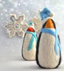 needle felting tutorial diy winter penguin needle felted penguin