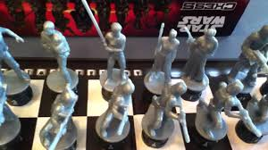 the force awakens star wars chess set review youtube