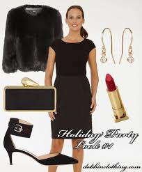 dobbin clothing one dress two holiday party looks the brigitte