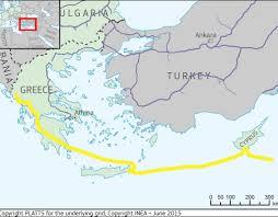 Mediterranean Europe Map by Eastern Mediterranean Natural Gas Pipeline U2013 Pre Feed Studies