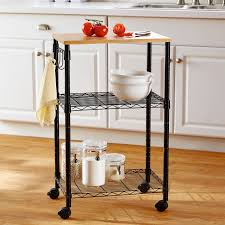 uncategories kitchen cart stainless steel top metal cart rolling