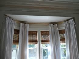 Decorative Rods For Curtains Window Curtains Pictures Of Bow Window Curtain Rod Curtains Ideas
