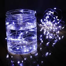 dc 12v 5m 50 silver wire led string light luminaria christmas