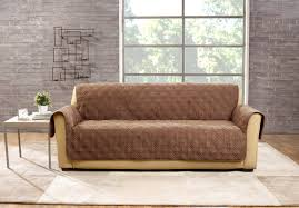 Couch And Loveseat Covers Sure Fit Deluxe Box Cushion Sofa Slipcover U0026 Reviews Wayfair