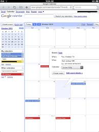 calendar scheduling hello ipad goodbye laptop part 2 que