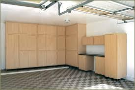 furniture after garage makeover design with metal storage cabinets