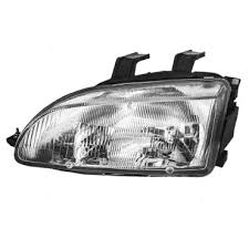 honda civic headlight everydayautoparts com 92 95 honda civic drivers headlight assembly