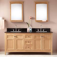 Oak Bathroom Cabinet 72