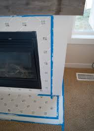 fireplace makeover grout paint u0026 the best tool ever for