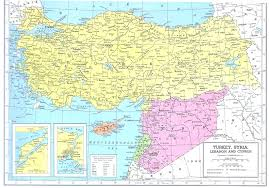 Lebanon Hills Map Turkey Syria Lebanon Cyprus Map Travel Pictures And Photos