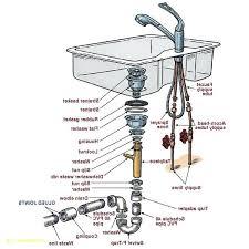 Kitchen Sink Drain Parts Kitchen Sink Drain Parts Bathroom Sink Plumbing Parts With Best Of
