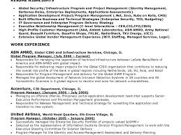 Resume Access Stunning Identity And Access Management Architect Resume