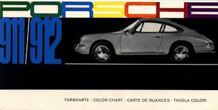 Porsche 911 Interior Color Codes Derwhite U0027s 911 912 Website