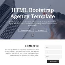 free bootstrap template 2017