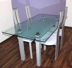 Designer Glastische Esszimmer Designer Esstisch Essgruppe Völker Design Glastisch