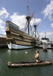 mayflower ii replica of pilgrim ship returns to plymouth the