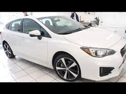 subaru white 2017 white 2017 subaru impreza sport edition tinted by winning window