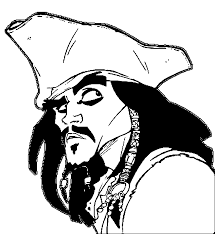 pirates of the caribbean coloring pages wecoloringpage