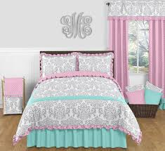 girls frilly bedding girls pink and blue bedding ktactical decoration