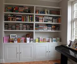 wall units awesome custom built in bookshelves astonishing