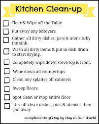 keep kitchen clean don t let dishes get you easier kitchen clean up