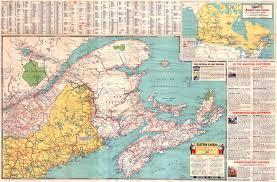 map east coast canada road map of eastern canada road map eastern canada
