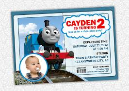 86 best thomas train invitations images on pinterest birthday