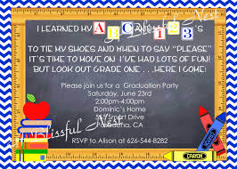 Graduation Party Invitation Cards Creative Back To Tea Party Invitation Card With Colorful