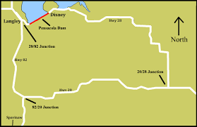 Pensacola Map Grda October 13 U2013 17 U2026 Pensacola Dam Roadway To Be Temporarily