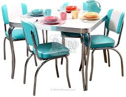 1950s chrome kitchen table and chairs retro chrome kitchen table vintage kitchen table and chairs fresh 19