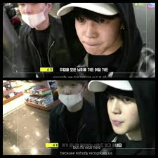 Looking Around Meme - first caption is readible lol yoonmin looking around the airport